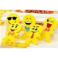 cartoon eraser with smile face