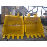 Excavator Standard / Heavy Bucket For Digging Clay , Sand, etc