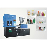 Plastic injection stretch blow moulding machine for PET PC PP materials