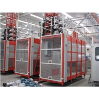 CE Certificated SC200/200 Double Cage Construction Elevator Manufacturer