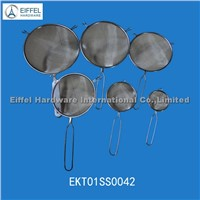 Stainless steel strainers with different sizes(EKT01SS0042)