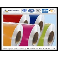 PE/PVDF Colour Coated Aluminium Gutter Coils 1100, 3003, 3004, 3005, 3105, 5005, 5052, 5182