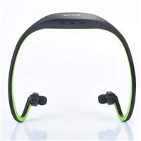 Wireless Headset Earphones Portable FM Radio Micro TF SD