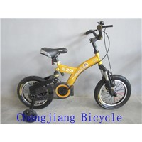 beautiful and quality children bicycle with suspensions