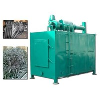 carbonization furnace or stove for wood charcoal