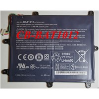 Original Tablet battery for acer Iconia Tab A200 A520 Free shipping BAT1012 BAT-1012 battery