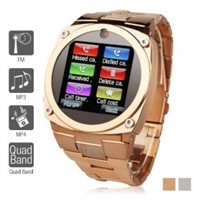 TW818B Unlocked Watch Cell Phone 1.6 TFT  GSM Mobile Hidden Camera Bluetooth GPRS JAVA