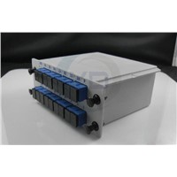 1x16 PLC splitter cassette module LGX metal box