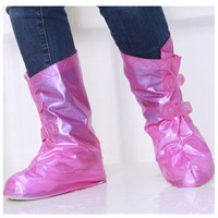 Sweet ladies high-heel rain shoe covers