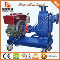 diesel engine self priming water pump,sewage pump