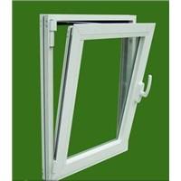 Conch u-pvc profile plastic steel casement window and door