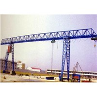 China Best Manufacturer Electric Single Girder Portal Crane