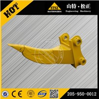 Komatsu spare parts on PC200-7 single shank ripper 205-950-0012