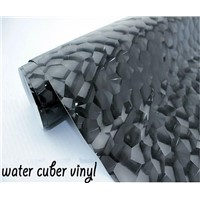 PVC Bubble Free Water Cube Car wrap