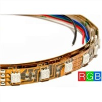SMD5050 RGB flexible led strip light colour changing