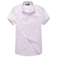 Men's short Sleeve Shirt, High Quality and Workmanship item no.JQY7120-1