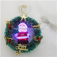 USB Mini colorful Christmas man circle decorative LED light