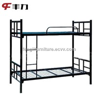 K/D structure iron double bed/ bunk bed for sale