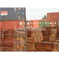 high quality  copper cathode99.99%high quality  copper cathode99.99%