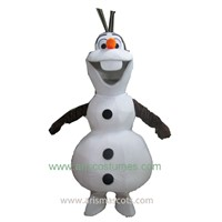 olaf frozen mascot costume cartoon character outfit party costumes fancy dress costumes