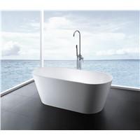 solid surface stone bathtub
