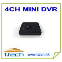 4CH H264 D1 Mini DVR
