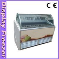 Ice Cream Display Freezer (Free Customized Logo Design)