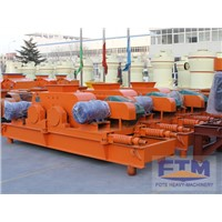Smooth double roll crushers for sale