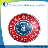 Business Advertising Round Vacuum Light Box