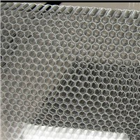 Clear Honeycomb PC panel PC sheet