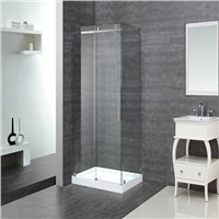 CUPC Roller Sliding Open Shower Door Enclosures With 304SS frame