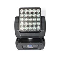 NEW 25pcs*12W CREE RGBW 4IN1 Array  Moving Head Matrix Light ,LED Moving Head Light