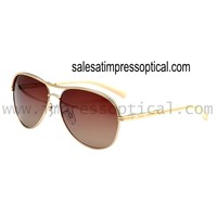 Unisex Full Rim Metal Anti-ultraviolet Polarize Wayfarer Sunglasses