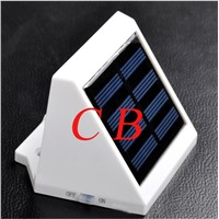 Updated 4 LED solar light control lighting with CE and Rosh