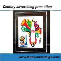 Slim fluorescent  light box