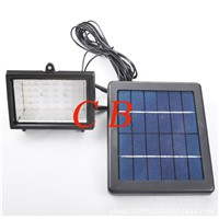 High quality solar led project lamp with 45 LEDS outdoor