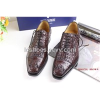 Luigi Cardani Order shoes,Goodyear hand made shoes,crocodile shoes