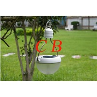 Portable outdoor Solar Led camp lamp with USB charging