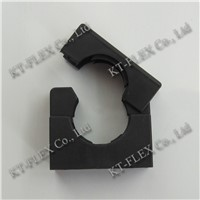 black nylon mounting brackets