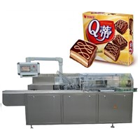 Auto Cream Cakes Cartoning Machine
