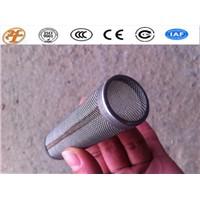 Stainless Steel/Galvanized Steel Mesh Filter Tube