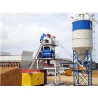 China hot exported high quality HZS50concrete mixing plant / concrete batching plant