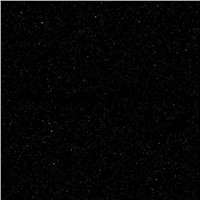 Shining black gold sand polished tile