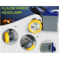 6.6Ah Li-ion Lamp LED Miner Safety Cap Lamp Rechargeable lighting
