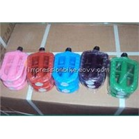 colorful plastic bicycle pedal
