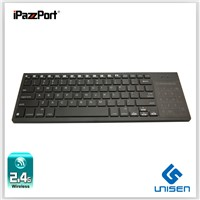 iPazzPort Wireless Keyboard With Touchpad