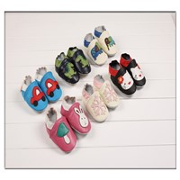 2014 fashion new arrival cute design genuine leather baby shoes