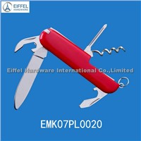 7 in 1 promotional multi knife with ABS handle / handle color can be customized(EMK07PL0020)