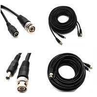 BNC DC CCTV cable for CCTV security camera manufacture / Video power cable CCTV cable