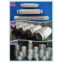 Exhaust flexible pipe connector/flexible metal hose for exhaust pipe